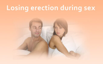 Losing erection during sex